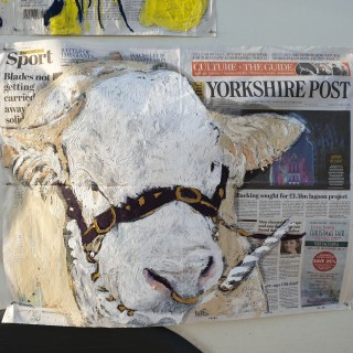 Oil on The Yorkshire Post 28.X.2019